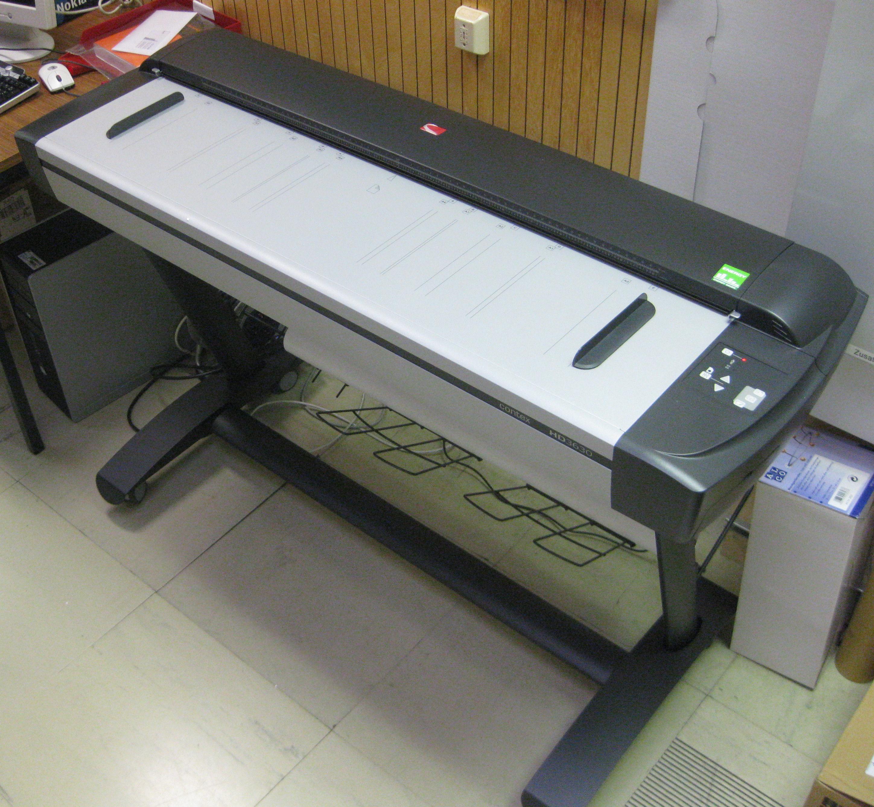 scanner contex hd 3630